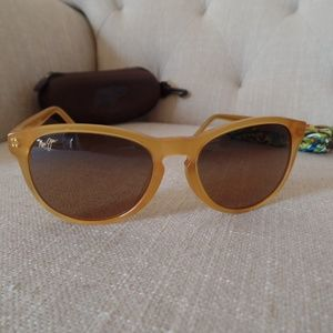 Maui Jim PAU HANA in Honey Frame/HCL Bronze, Rare